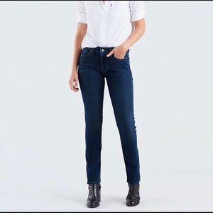 Levi's 712 slim straight jeans size 27 X 30